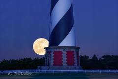 Full Moon at Cape Hatteras Lighthouse
