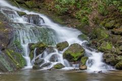 Indian Creek Falls - Detail